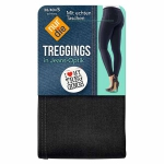 Треггинсы под джинсовый вид.