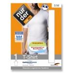 Мужская хлопчатобумажная стретчевая футболка Dry&Cool с V-образным вырезом.